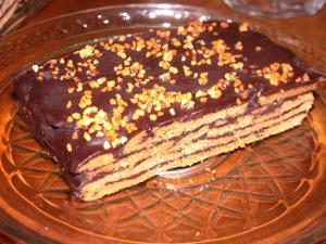 Low carb Mandel-Baum-Kuchen
