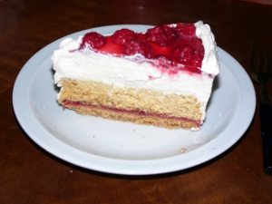 Low Carb Himbeer Sahne Torte